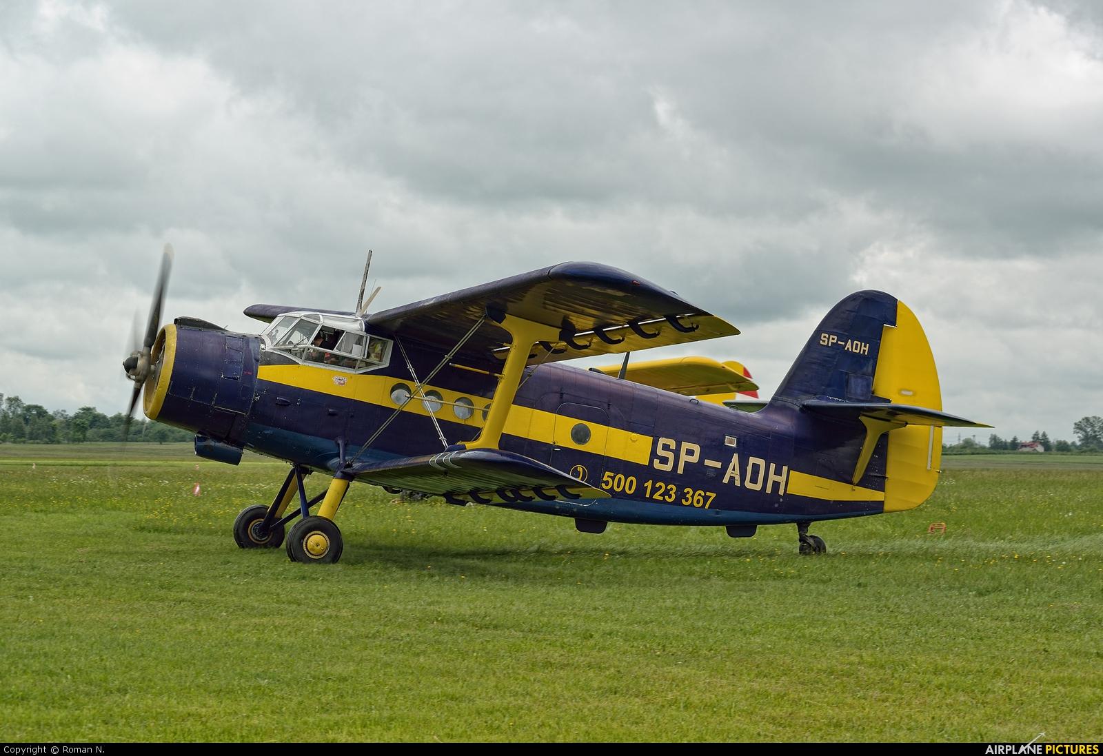 Aeroklub Ziemi Lubuskiej SP-AOH aircraft at Płock