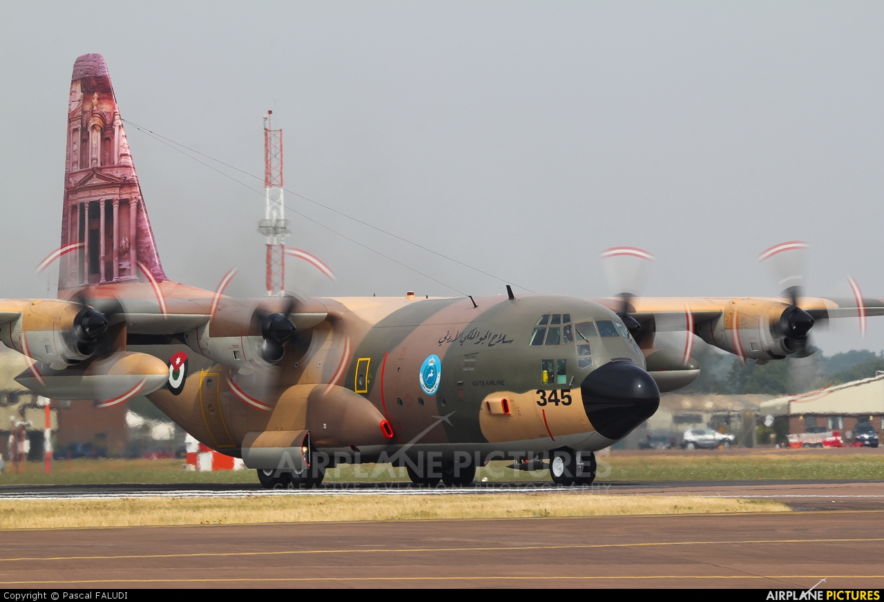 Jordan - Air Force 345 aircraft at Fairford
