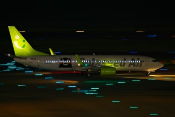 JA802X - Solaseed Air - Skynet Asia Airways Boeing 737-800