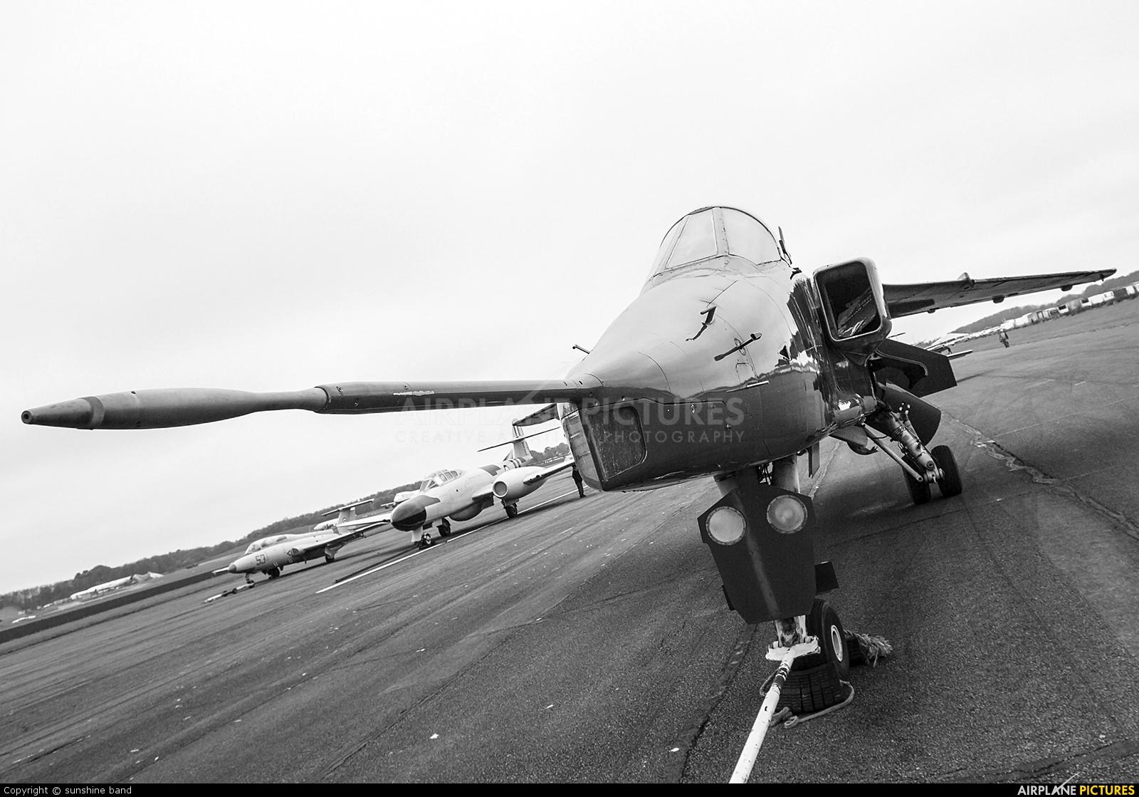 Royal Air Force XZ382 aircraft at Bruntingthorpe