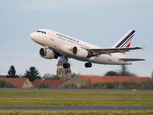F-GUGL - Air France Airbus A318