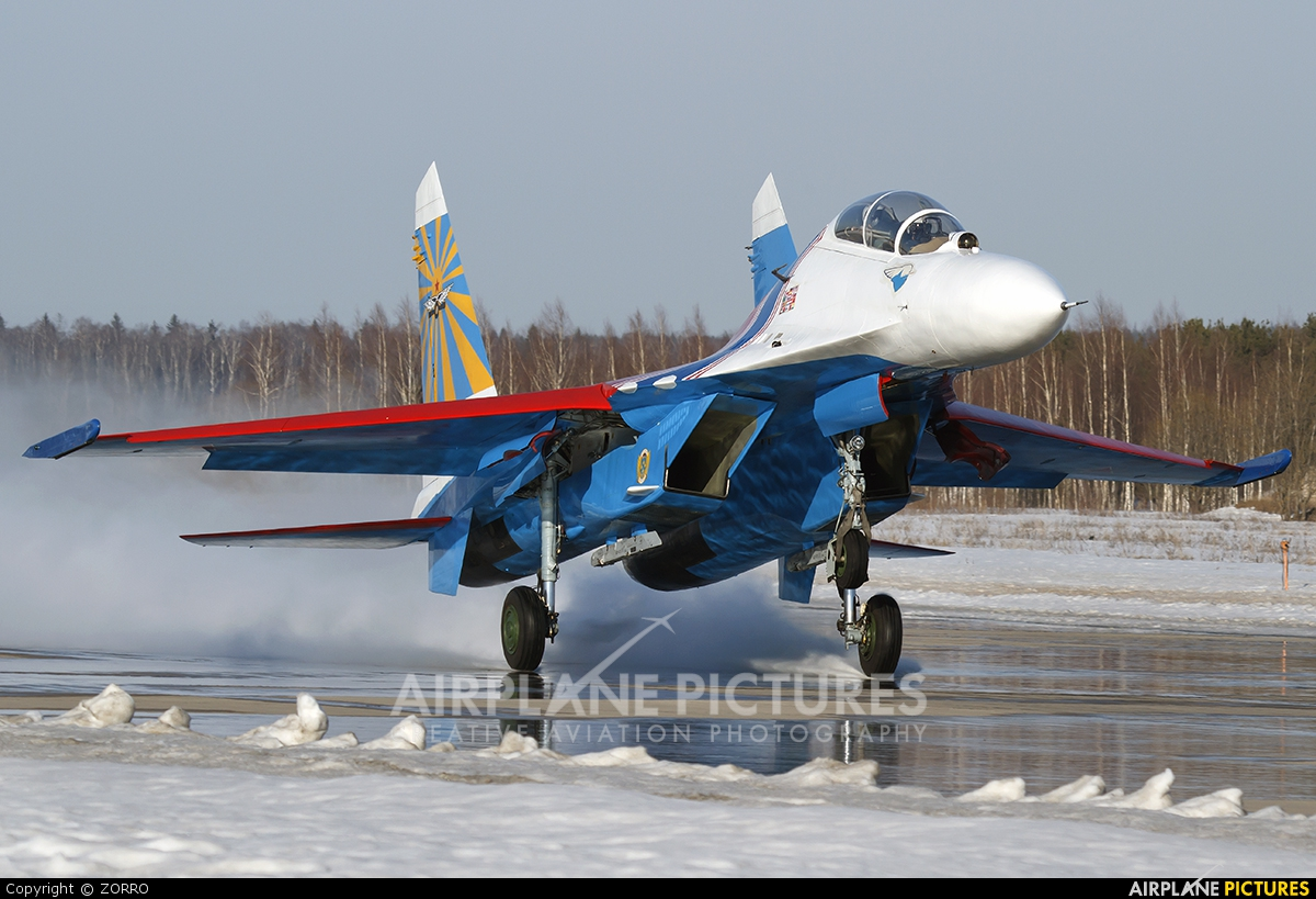 Russia - Air Force 20 aircraft at Off Airport - Russia