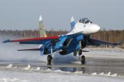 20 - Russia - Air Force Sukhoi Su-27UB aircraft