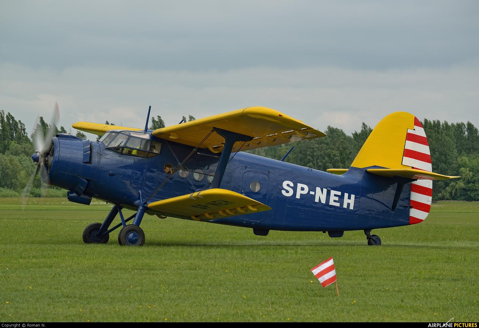Aeroclub Zaglebia Miedziowego SP-NEH aircraft at Płock