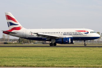 G-EUPK - British Airways Airbus A319