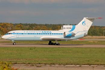 RA-42436 - Gazpromavia Yakovlev Yak-42