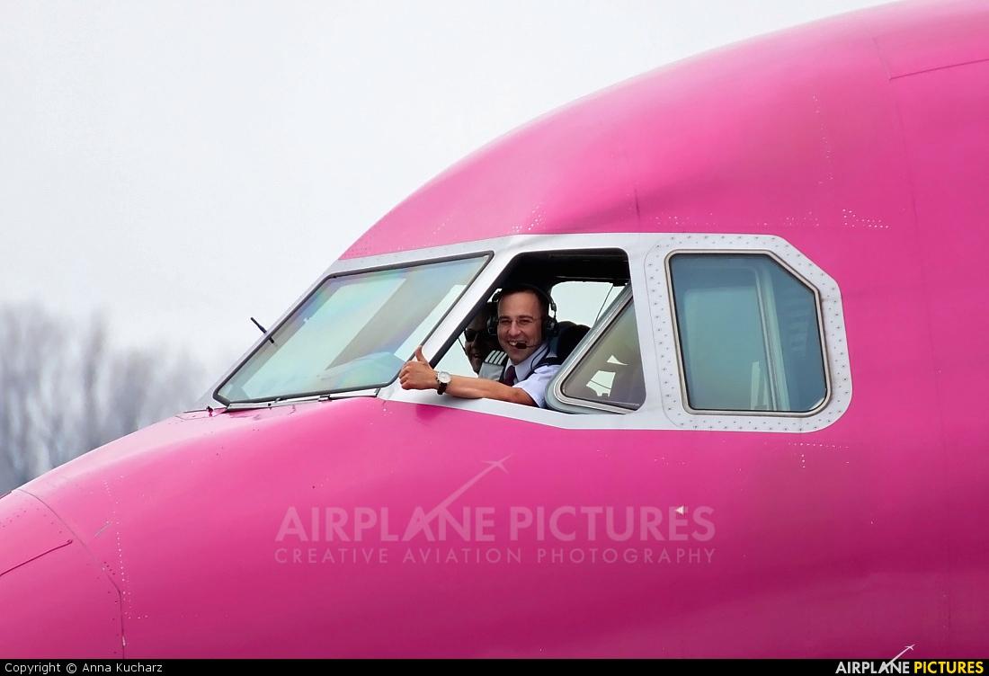 Wizz Air HA-LPT aircraft at Warsaw - Frederic Chopin