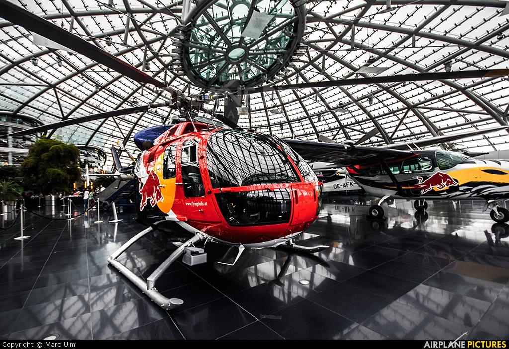 The Flying Bulls D-HTDM aircraft at Salzburg