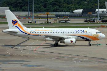 LZ-AOA - Myanmar Airways International Airbus A319