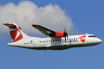 OK-KFP - CSA - Czech Airlines ATR 42 (all models)