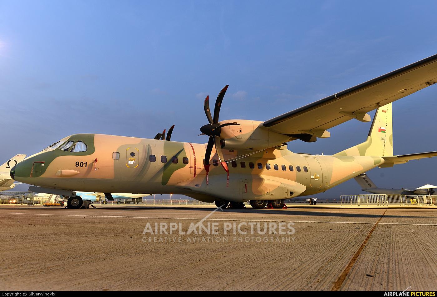 Oman - Air Force 901 aircraft at Jebel Ali Al Maktoum Intl
