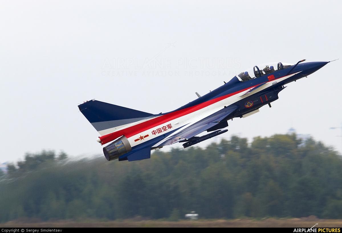 11 RED - China - Air Force Chengdu J-10 at Ramenskoye ...