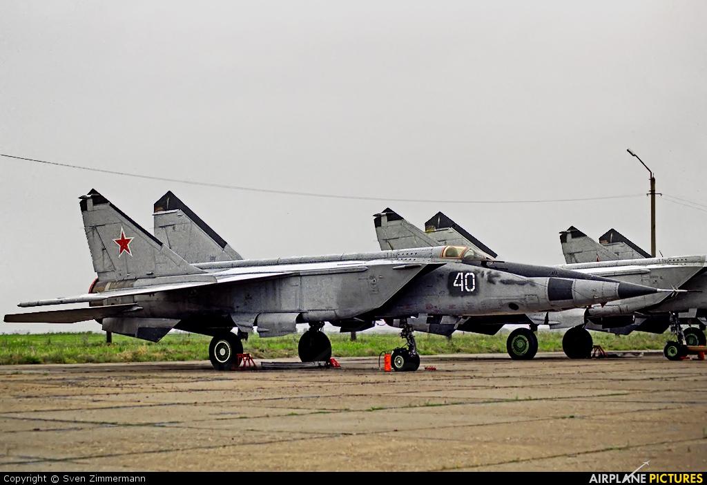 Russia - Air Force 40 aircraft at Lipetsk