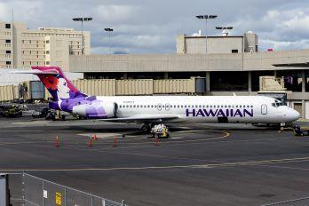 N488HA - Hawaiian Airlines Boeing 717