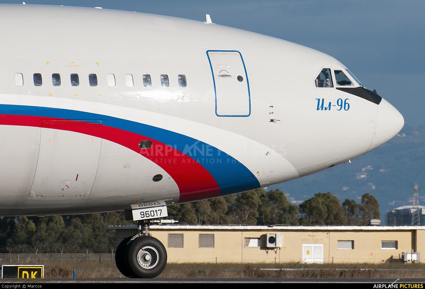 Rossiya RA-96017 aircraft at Rome - Fiumicino