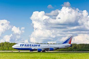 VQ-BHX - Transaero Airlines Boeing 747-400