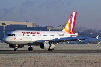 D-AGWA - Germanwings Airbus A319