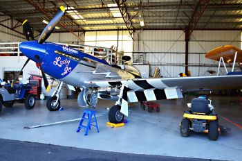 NL327DB - Private North American P-51A Mustang