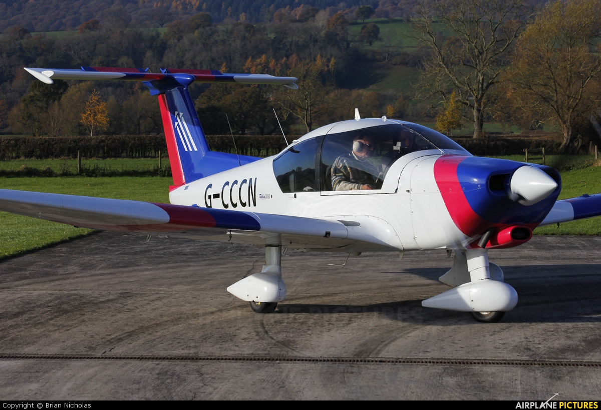Private G-CCCN aircraft at Welshpool