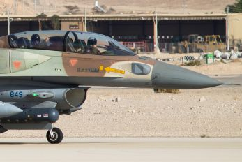 849 - Israel - Defence Force Lockheed Martin F-16I Sufa