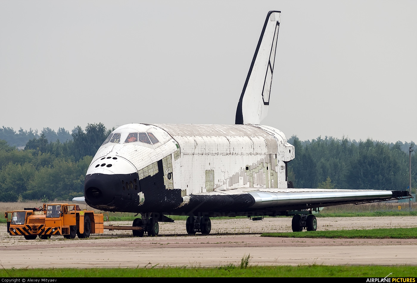 Russian Space Agency 2.01 aircraft at Ramenskoye - Zhukovsky
