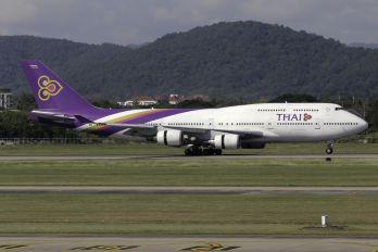 HS-TGG - Thai Airways Boeing 747-400