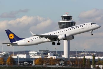 D-AEBH - Lufthansa Regional - CityLine Embraer ERJ-195 (190-200)