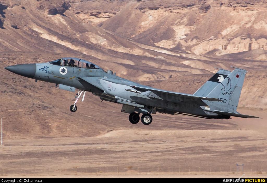 Israel - Defence Force 450 aircraft at Beersheba - Hatzerim