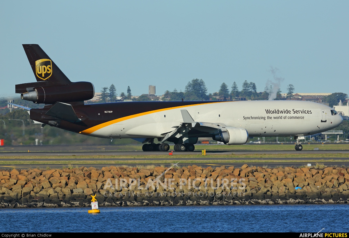 UPS - United Parcel Service N278UP aircraft at Sydney - Kingsford Smith Intl, NSW