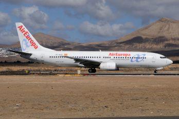 EC-HJQ - Air Europa Boeing 737-800