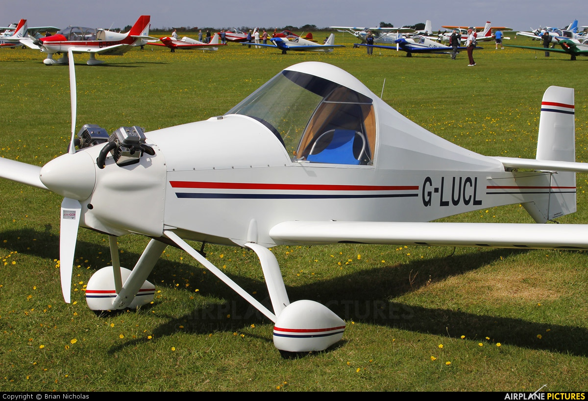 Private G-LUCL aircraft at Northampton / Sywell