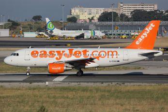 G-EZAB - easyJet Airbus A319
