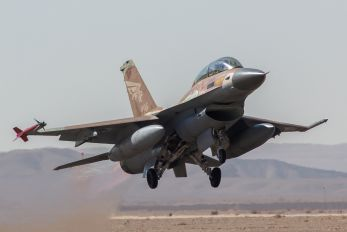 996 - Israel - Defence Force General Dynamics F-16B Netz