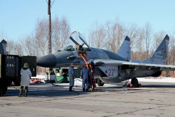 22 - Russia - Air Force Mikoyan-Gurevich MiG-29SMT