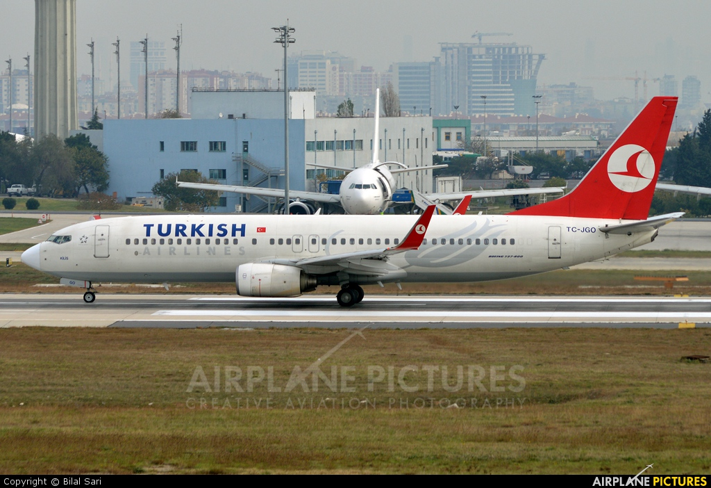 Turkish Airlines TC-JGO aircraft at Istanbul - Ataturk