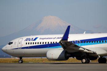 JA64AN - ANA - All Nippon Airways Boeing 737-800