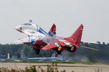 11 - Russia - Air Force Mikoyan-Gurevich MiG-29UB