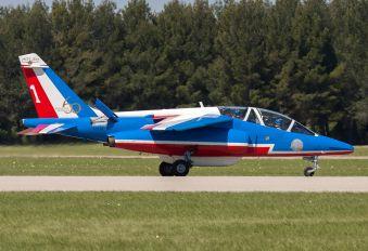 """E95 - France - Air Force """"Patrouille de France"""" Dassault - Dornier Alpha Jet E"""