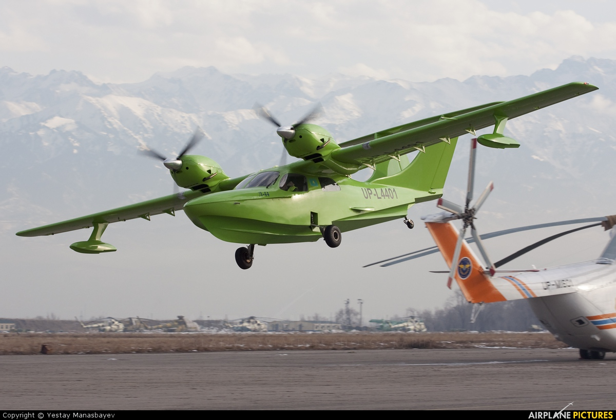 Discovery Flight UP-L4401 aircraft at Boralday