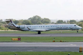 5A-LAA - Libyan Airlines Canadair CL-600 CRJ-900