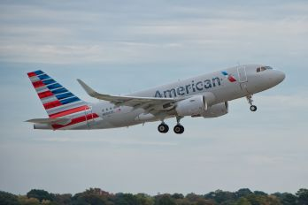 N5007E - American Airlines Airbus A319
