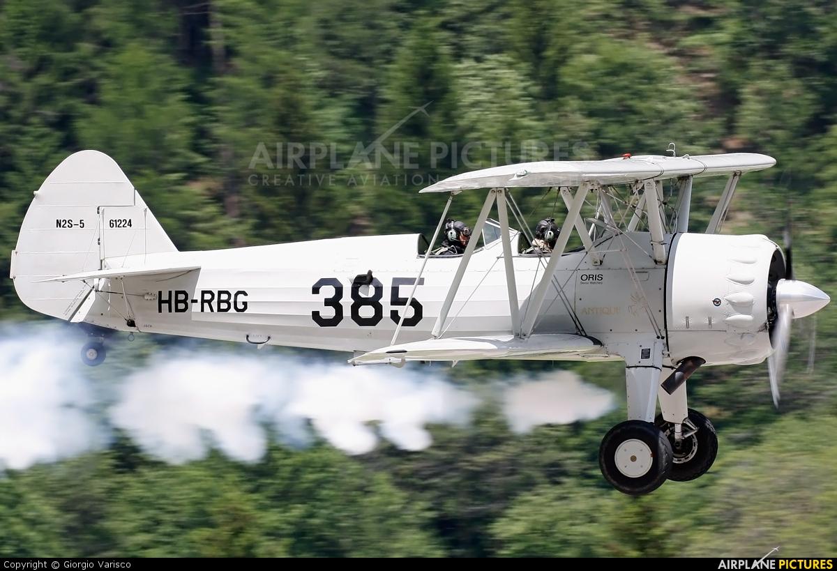 Private HB-RBG aircraft at Ambri
