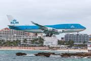 PH-BFL - KLM Boeing 747-400 aircraft