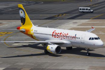 5H-FJC - Fastjet Airbus A319