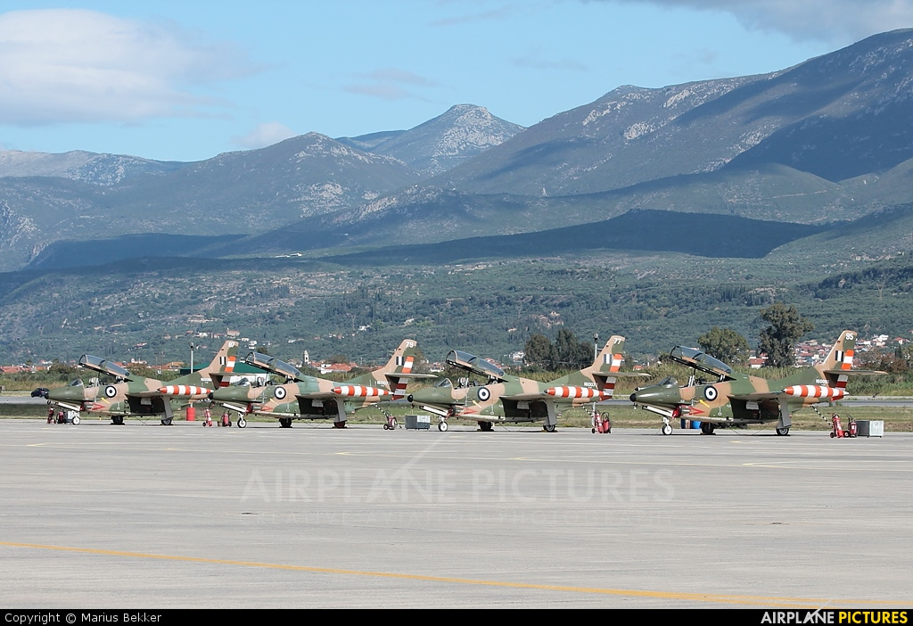 Greece - Hellenic Air Force - aircraft at Kalamata