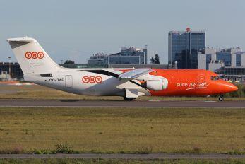 OO-TAF - TNT British Aerospace BAe 146-200/Avro RJ85-QT Quiet Trader
