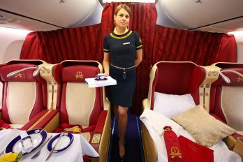 - - Transaero Airlines - Aviation Glamour - Flight Attendant