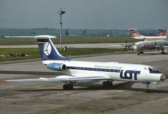 SP-LGC - LOT - Polish Airlines Tupolev Tu-134