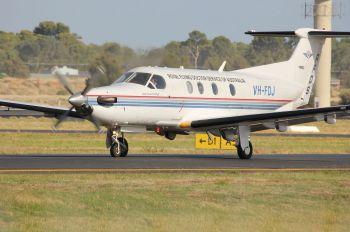 VH-FDJ - Royal Flying Doctor Service Pilatus PC-12