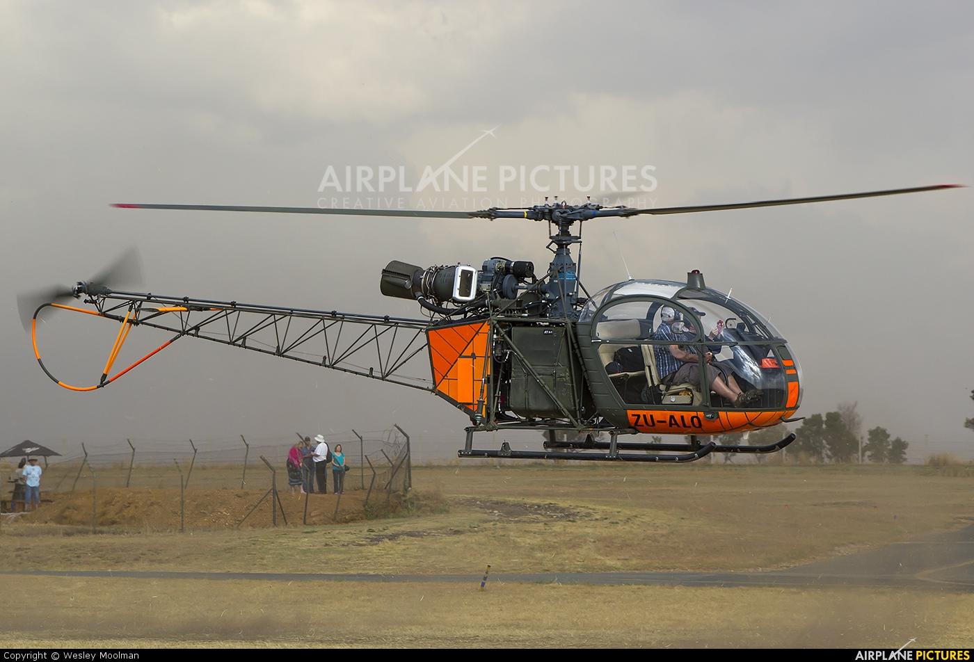 Private ZU-ALO aircraft at Johannesburg - Rand